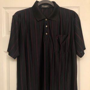 Vintage YSL Silk Polo